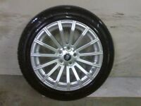 ALLOYS X 4 OF 19 INCH GENUINE RANGEROVER/DISCOVERY FULLY POWDERCOATED INA STUNNING DUTCH/SILVER NICE