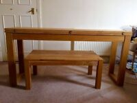 Oak coffee table (Brighton [Urgent])