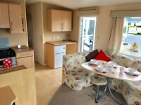starter holiday home static caravan, hayling island south coast near to portsmouth and chichester