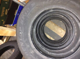 DUNLOP SP10 Tyres 155/80 R13 79T NEW/OLD STOCK