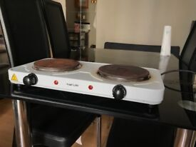 Electric Twin Hob
