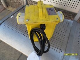 110v transformer in perfect working order