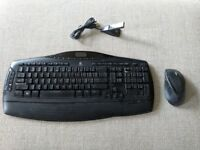 Logitech Keyboard and Mouse Bundle