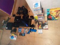large selection of retro consoles games etc worth lot more than asking
