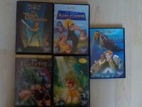 Disney DVDs - £4 each for collection & £5 if posted