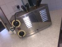 Silver rowlett 2 slot toaster