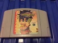Nintendo 64 game cartridge. N64 game