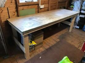 Large 8ft Work Bench