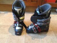 Ladies Solomon ski boots uk size 4. Worn twice £30 ono