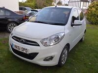 Hyundai i10 1.2 Style 84 Bhp: Great Car, Electric Sunroof and Windows, Heated Front Seats