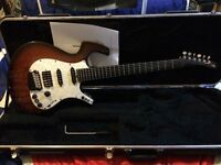 USA Parker Fly Guitar and case (was a midi see decription)