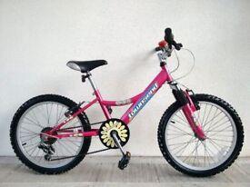 "(681) 20"" TOWNSEND PEACH GIRLS MOUNTAIN HARDTAIL BIKE BICYCLE Age: 6-9, 120-135 cm"