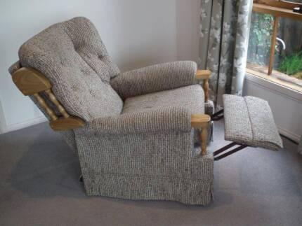 Recliner Arm Chair. Fantastic Furniture Recliner   Armchairs   Gumtree Australia