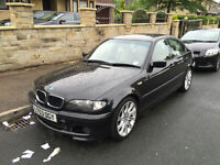 BMW 320D M SPORT (E46) BLACK LEATHERS 98K 2003 53