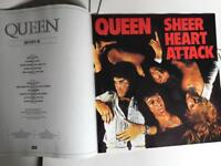 QUEEN - THE COMPLETE WORKS - VINYL NEVER PLAYED