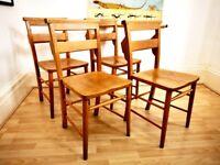 Beechwood & elm Church chapel chairs (16 available )
