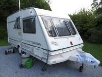 2 berth Abbey Caravan with Motor Mover.