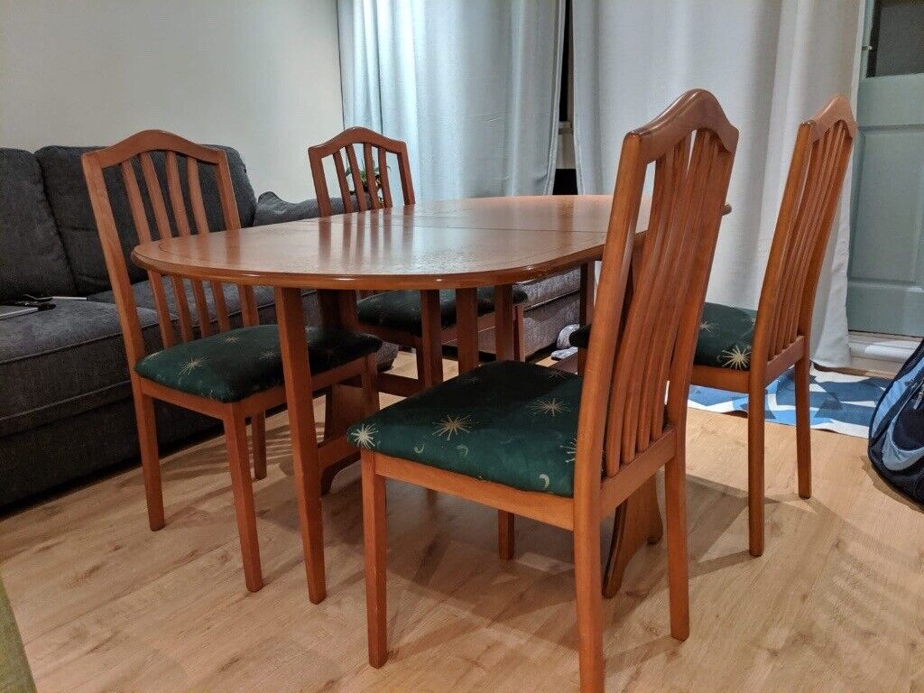 Folding Dining Table and 4 Chairs   in Lambeth, London ...