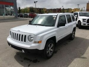 2017 Jeep Patriot HIGH ALTITUDE-4WD, LEATHER HEATED SEATS, SUNRO