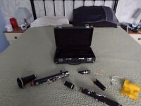 Montreux Clarinet in black case