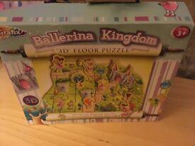 Ballerina Kingdom 3D floor puzzle