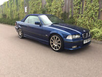 RARE FUTURE CLASSIC + BMW 328I + 2.8 + SPORT + CONVERTIBLE + V.REG + ONLY 67K WITH FULL HISTORY