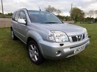 OCT. 2006 NISSAN X TRAIL 2.0 DIESEL JEEP..MOTED NTO NOVEMBER..POSSIBLE PART EXCHANGE.CREDIT CARD ACC