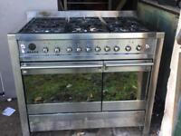 SMEG dual fuel range cooker