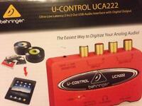 Behringer U-control UCA222