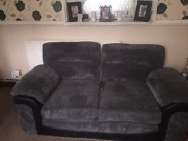 3 + 2 seater sofas for sale 18 months old !!