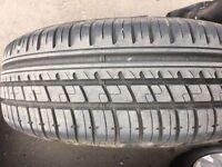 Volkswagen 5X112 Steel Wheels with new tyres