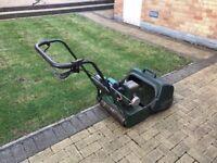ATCO Cylinder Petrol Lawn Mower. Self Propelled. Self Power Drive