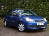 2008 Ford Fiesta 1.25 Style 5dr. **Full Years Mot** (clio,corsa,focus,polo,megane,astra,307,308,206