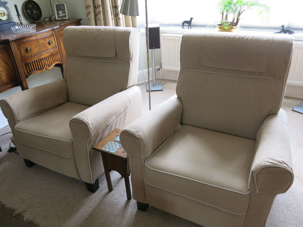 Pair Ikea Muren Reclining Chairs In Cambridge