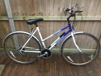 2 x Raleigh Pioner Ladies Hybrid Bike Mudguards and carrier
