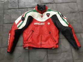 Dainese Ducati Corse leather jacket