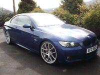 LE MANS BLUE BMW 335D M SPORT COUPE 285BHP * XENONS* 20'' ISPIRIS! LIKE 330D 535D 530D R32 335I M3