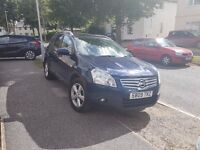 FULLY LOADED.2009 NISSAN QASHQAI ACENTA + 2 DCI BLUE.7 SEATS very economical