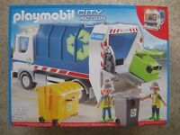 Playmobil 4129 City Action Recycling Truck - New and sealed