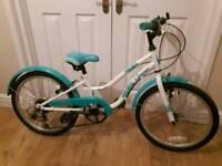 "Apollo Oceana Girls Hybrid Bike 6 Speed 20"" wheel"