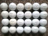24 Titleist Prov1s in very good condition