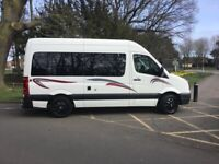 VW Crafter campervan MWB High Roof 66 Plate with only 35,500 miles