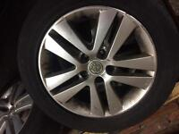 Astra h alloy wheels