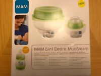 Brand New 6 in 1 Bottle Steriliser and warmer RRP £90