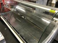 Serve over counter display fridge commercial catering kitchen equipment restaurant cafe kebab shop