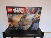 lego star wars - kylo rens command shuttle 75104