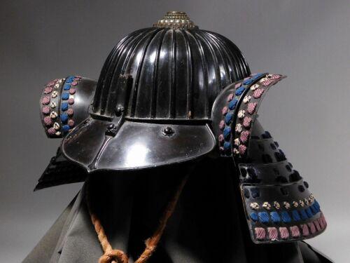 SUPERB Sanjurokken Suji Kabuto 17thC Japanese Original Edo Yoroi Armor Antique