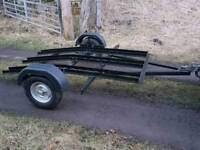 Motocross motorbike 3 bike trailer