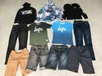 Boys Clothes Bundle - 13-14 Years