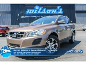 2013 Volvo XC60 T6 | AWD | LEATHER | SUNROOF | HEATED SEATS | BL